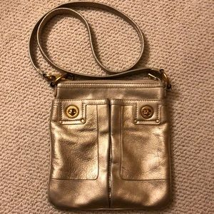 Marc By Marc Jacobs Gold Crossbody Bag